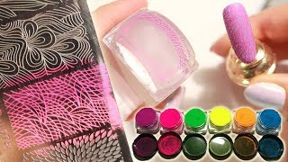 Download How to Stamp with Nail Art Pigments Mp3 and Videos