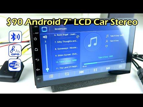 "$90 Budget 7"" LCD Android Car Stereo Headunit CK1018"