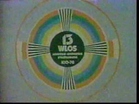 WLOS-TV 13, Asheville NC Sign-off and Sign-on 1988