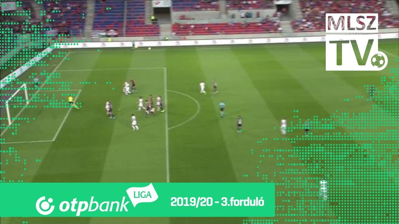 Elek Ákos gólja a MOL Fehérvár FC – DVTK mérkőzésen - YouTube
