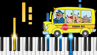 The Wheels on the Bus - Piano Tutorial