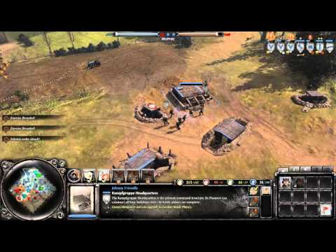 Coh 2 - Axis multiplayer match 11 port hamburg