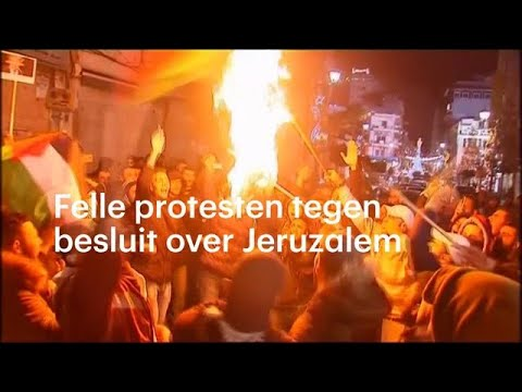 'Onrechtvaardig en immoreel': woedende protesten na besluit over Jeruzalem - RTL NIEUWS