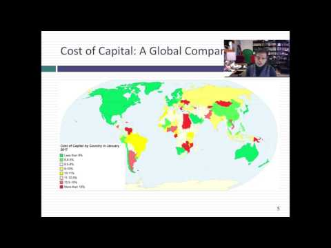 Data 2017 Update 6: The Cost of Capital