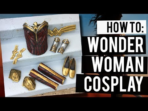 How To Make Wonder Woman Cosplay Armor | Cosplay Basics