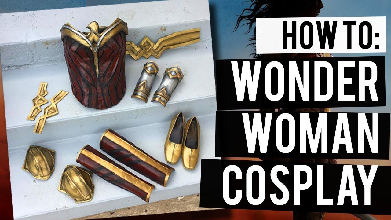 How To Make Wonder Woman Cosplay Armor | Cosplay Basics