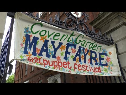 MAY FAYRE 2015 Covent Garden