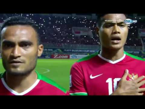 National Anthem Indonesia: Indonesia Raya 1st Leg vs Thailand AFF Suzuki Cup 2016 Final