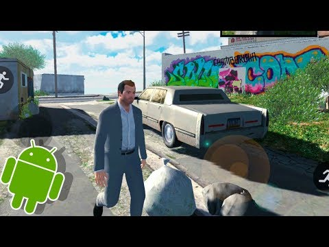 GTA 5 - Android Gameplay / GTA V Mobile Remake Demo NOT OFFICIAL