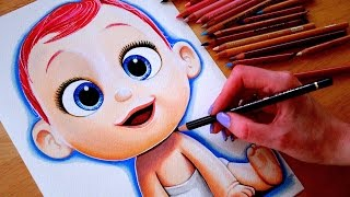 STORKS Drawing THE BABY 👶