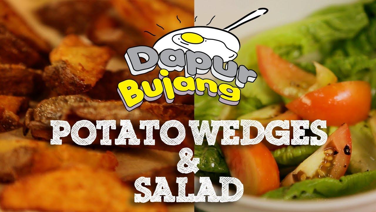 Dapurbujang Ramadhan Potato Wedges Salad You