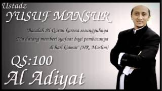 Ust Yusuf Mansur Murotal QS:100 Al Adiyat