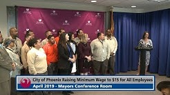City of Phoenix Raising Minimum Wage to $15 for All Employees | News Feed