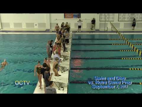 Varsity Swim & Dive vs. Notre Dame Prep 9-7-17