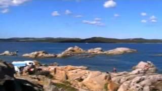 Panoramiche dell'Isola dei Gabbiani