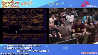 Summer Games Done Quick 2014 - Part 18 - Metal Warriors
