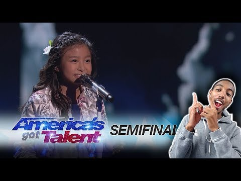 "Celine Tam: 9-Year-Old Stuns The Audience With ""How Far I'll Go"" - America's Got Talent 2017"