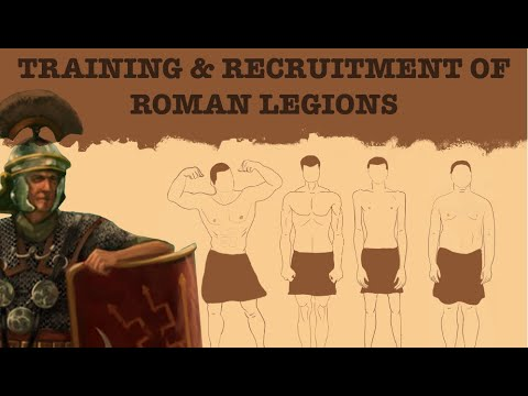 The impressive training and recruitment of Rome's Legions