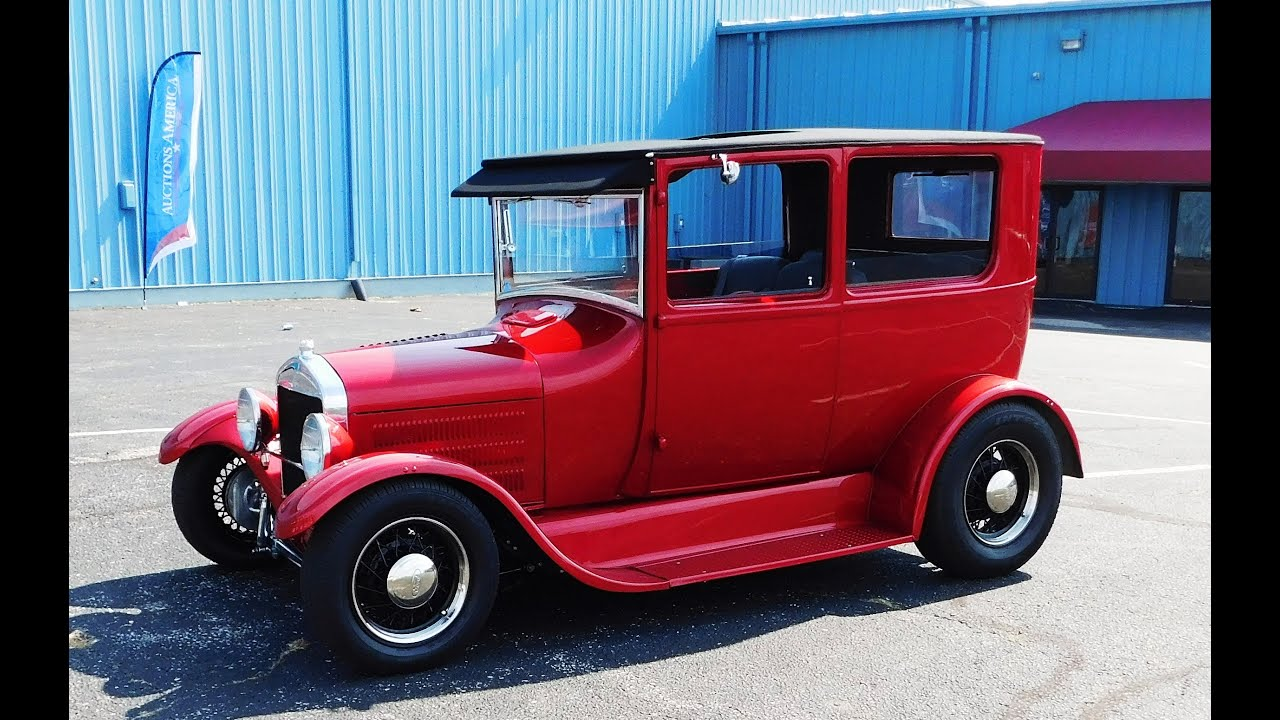 1926 Ford Model T Street Rod 2016 Kavalcade Of Kool - YouTube