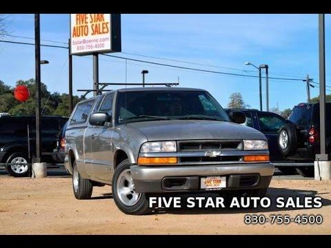 2002 Chevrolet S-10 LS Review