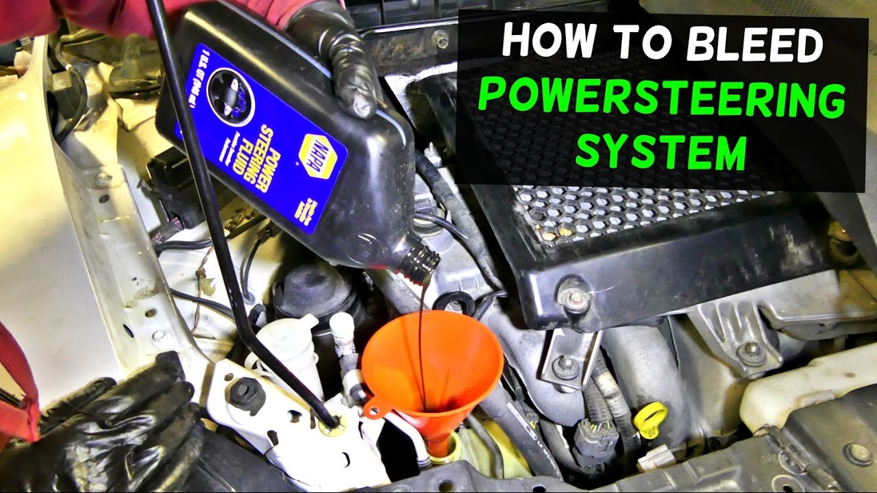 toyota corolla power steering pump diagram how to bleed    power       steering    system and    pump    demonstrated  how to bleed    power       steering    system and    pump    demonstrated