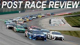 2018 NASCAR At Kentucky Post Race Review