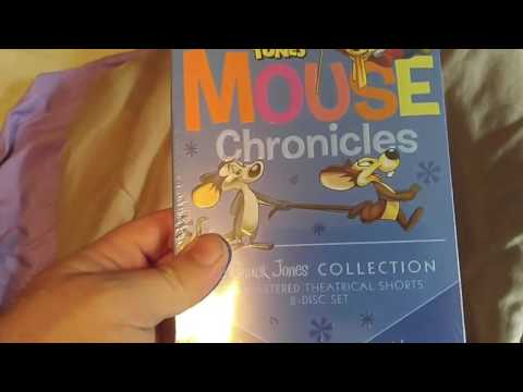 Looney-Tunes:Mouse Chronices DVD Unboxing