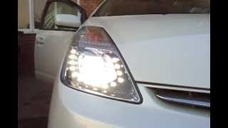 Prius custom headlight with drl and hid lens(, 2013-03-24T09:47:46.000Z)