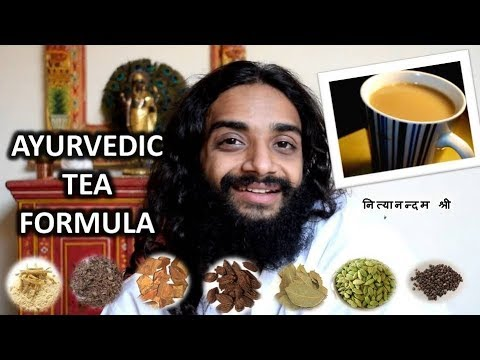 AYURVEDIC TEA FORMULA  FOR IMMUNITY BY NITYANANDAM SHREE