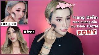 Makeup theo hướng dẫn của PONY | I TRIED TO FOLLOW PONY'S MAKEUP |Ty Lê||