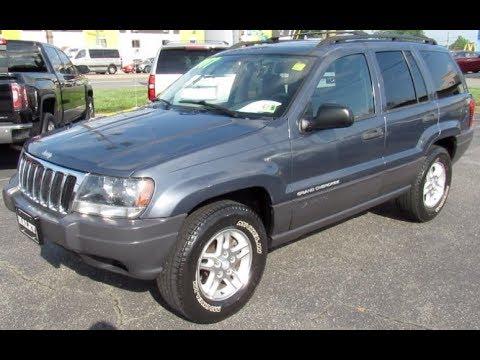 2003 Jeep Grand Cherokee Laredo Walkaround, Start up, Tour and Overview