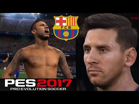 PES 2017 | TOP MEJORES GOLES - Top Goals NEYMAR, MESSI,  LUIS SUAREZ, GRIEZMANN y más!