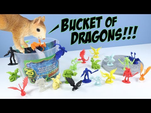 How To Train Your Dragon The Hidden World Bucket of Dragons Review