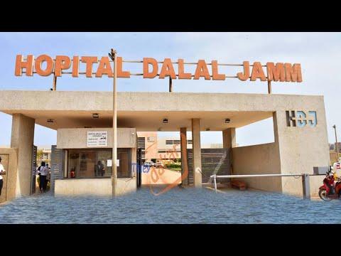 """Hôpital """"Dalal Jam"""": des malades du Covid-19 troublés par les eaux de pluies..."""