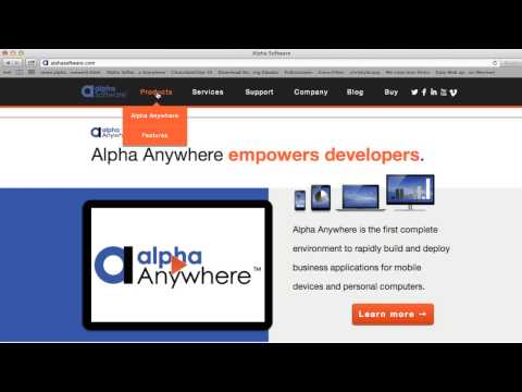 AA Alpha Anywhere Overview