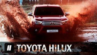 """Toyota Hilux 2015.  """"Две Лошадиные Силы"""""""