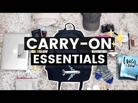 What's in my Travel Bag | Carry-On Essentials