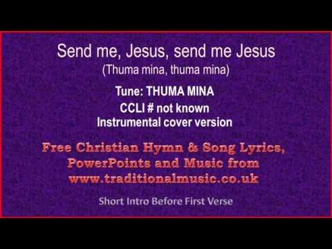 Send me, Jesus, Send me Jesus - Hymn Lyrics & Music