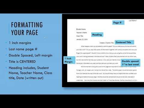 MLA Format & Citations