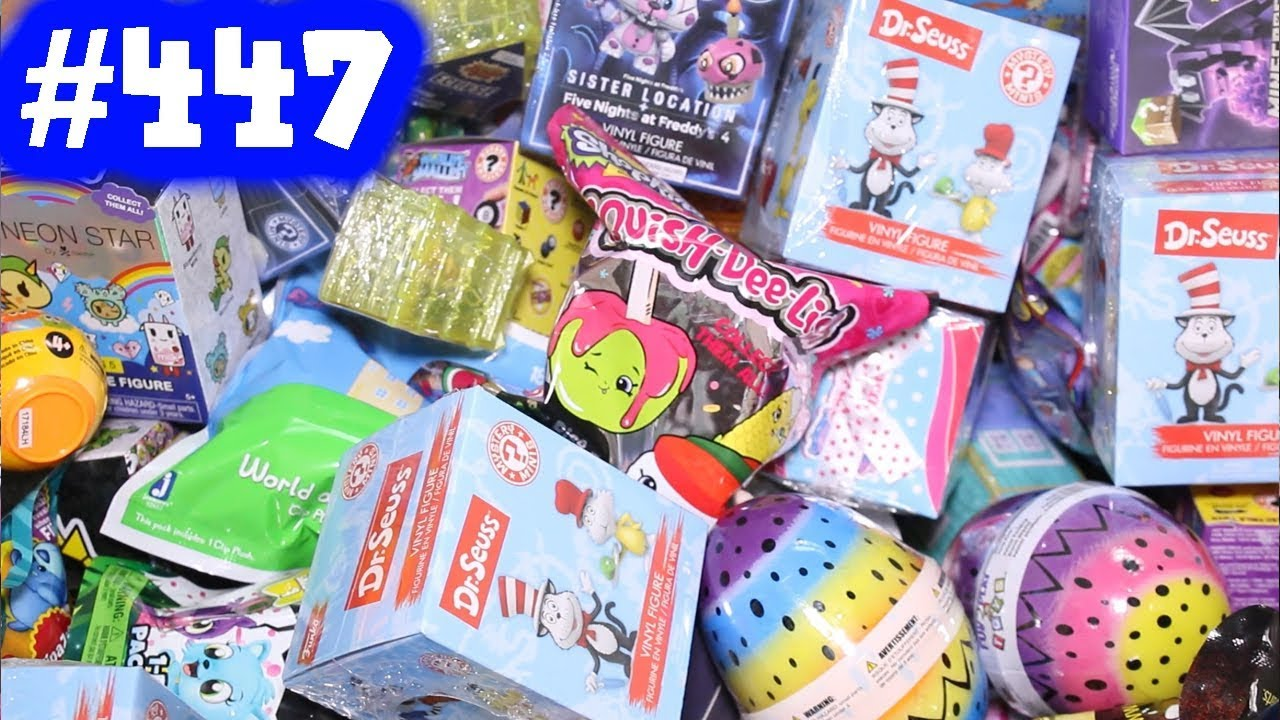 Random Blind Bag Box Episode 447 Pixar Mashems Flip A