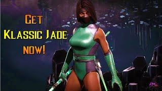 Klassic JADE Skin REVEALED!!! [Showcase] MORTAL KOMBAT 11