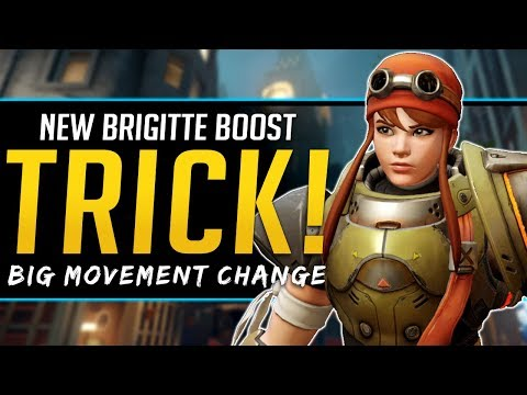 Overwatch NEW Brigitte Trick - Great Movement Ability thumbnail