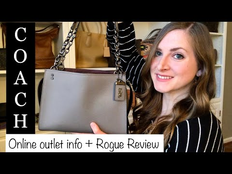 *HOW TO* Shop Coach Outlet Online + *REVIEW* Rogue Shoulder Bag
