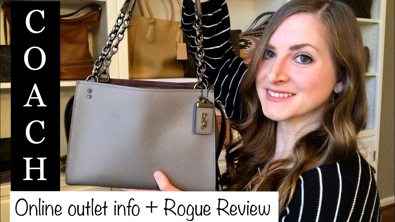 How To Coach Outlet Online Review Rogue Shoulder Bag