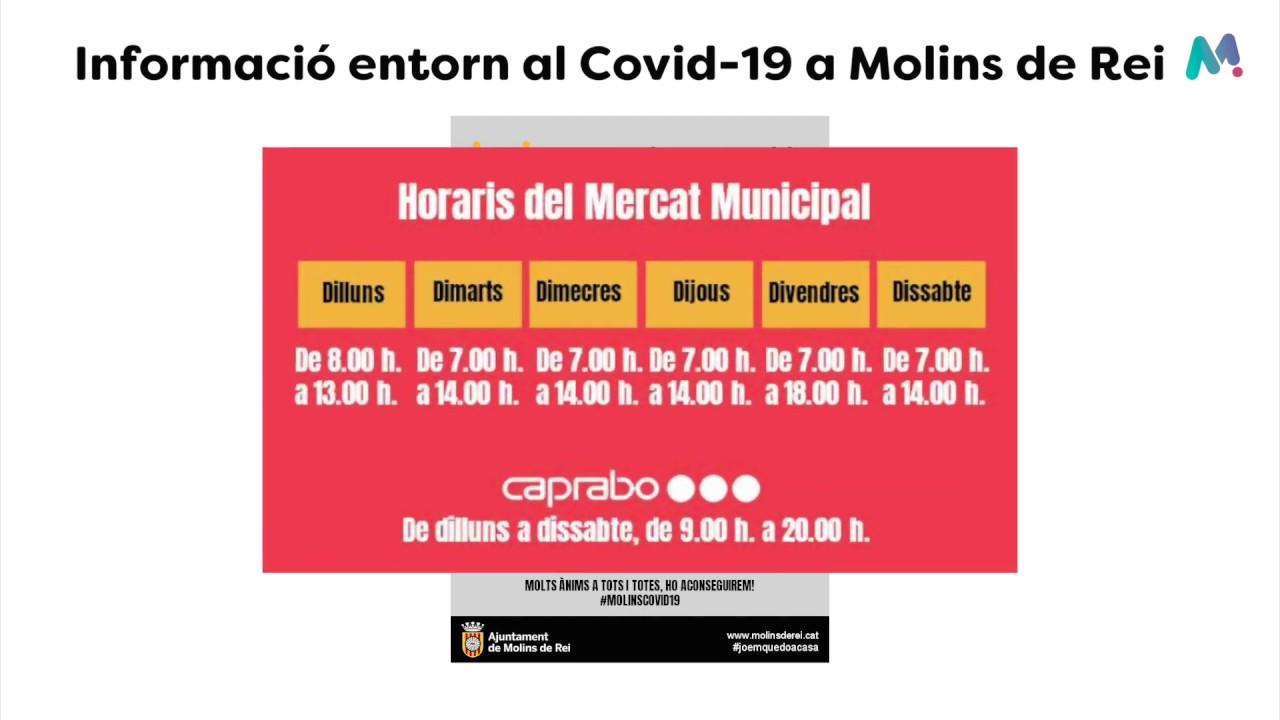 Informació de servei de l'Ajuntament entorn al Covid-19
