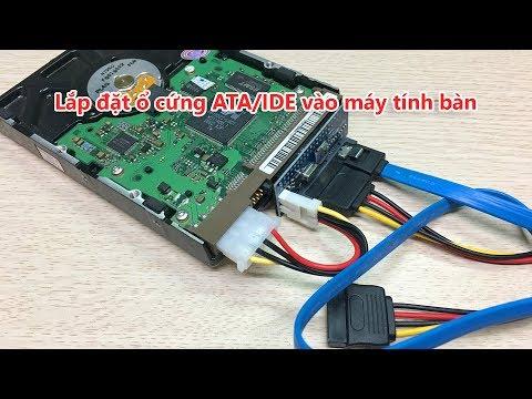 Hướng Dẫn Lắp đặt ổ Cứng HDD ATA, IDE 40pin Vào Máy Tính Bàn