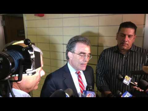 Lawyer for gun defendant speaks after court