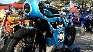 Motor Modif Keren, Honda cafe Racer Gak Kalah Menarik