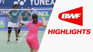 Yonex Chinese Taipei Open 2015 | Badminton Finals - Highlights