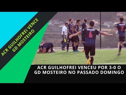 ACR GUILHOFREI vence GD MOSTEIRO